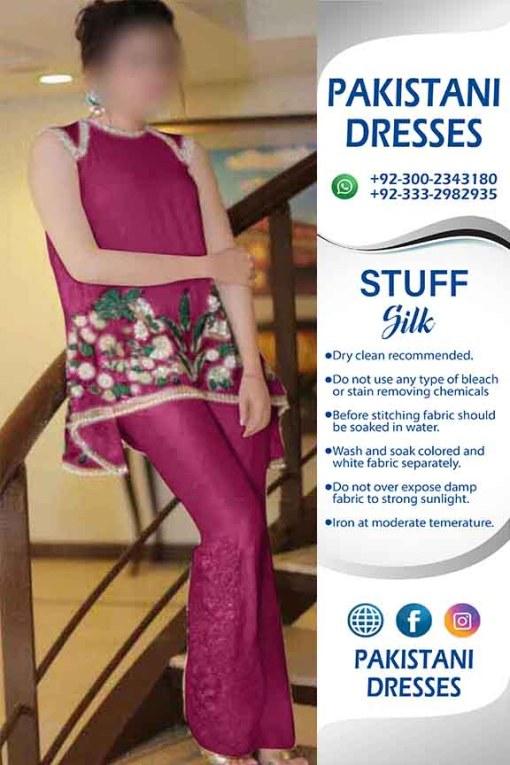 Sana Javed Latest Silk Dresses Online