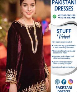 Nomi Ansari Latest Velvet Dresses