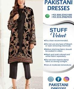 Pakistani Micro Velvet Dresses