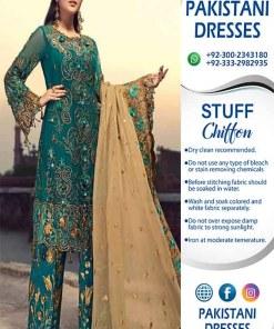 Zainab Chottani Chiffon Dressses Collection
