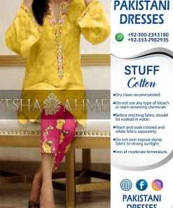 Ayesha Ahmed Turkish Cotton Collection