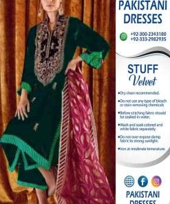 Zainab Chottani Velvet Collection
