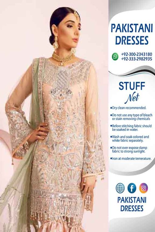 Maryam N Maria Bridal Net Collection