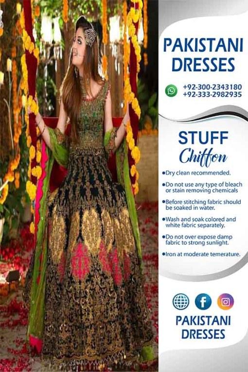 Pakistani Wedding Dresses For Girls
