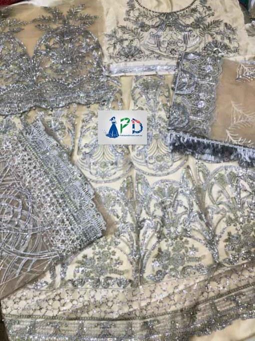 Maryams Party Wear Frock 2021 Online