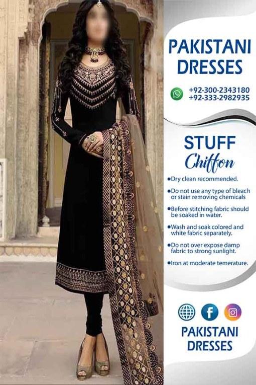 Pakistani Black Dresses Online 2021