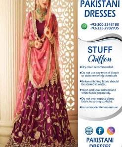 Annus Abrar Bridal Chiffon Dresses 2021