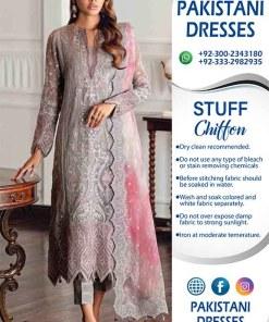 Pakistani Latest Chiffon Clothes 2021