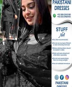 Zainab Chottani Black Dress 2021