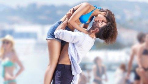Befikre kissing scene