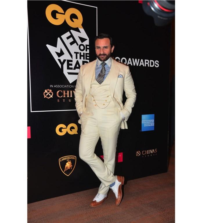 Saif Ali Khan at GQ Awards 2016