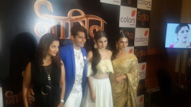 Team Naagin 2 at launch event
