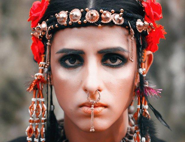 Pakistani transgender Kami Sid Pictures