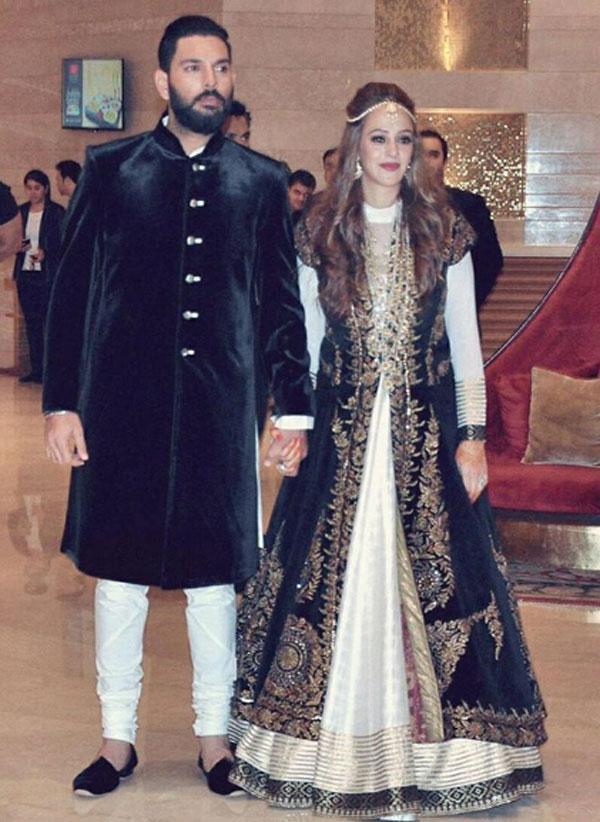Yuvraj Singh and Hezal