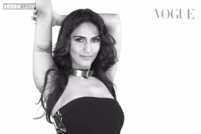 Vaani Kapoor on Vogue Magazine Cover