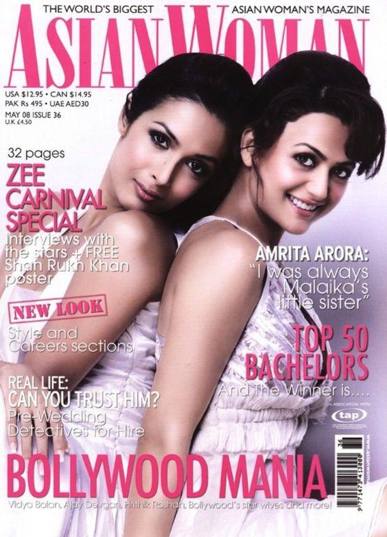 Arora Sisters Malaika Arora and Amrita Arora cover shoot