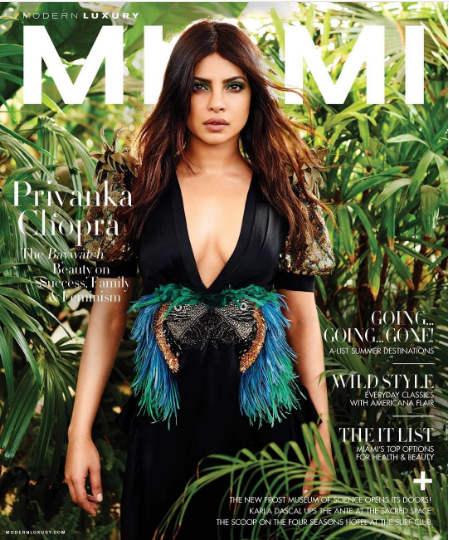 Priyanka Chopra-Miami Cover