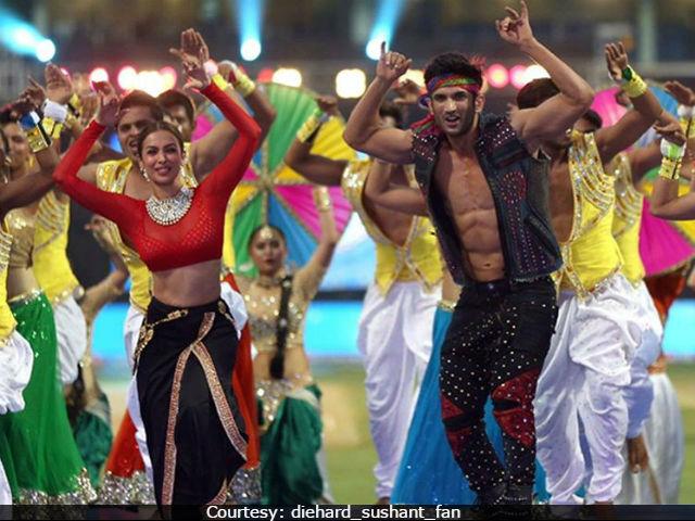 Sushan Singh Malaika Arora IPL Opening Ceremony