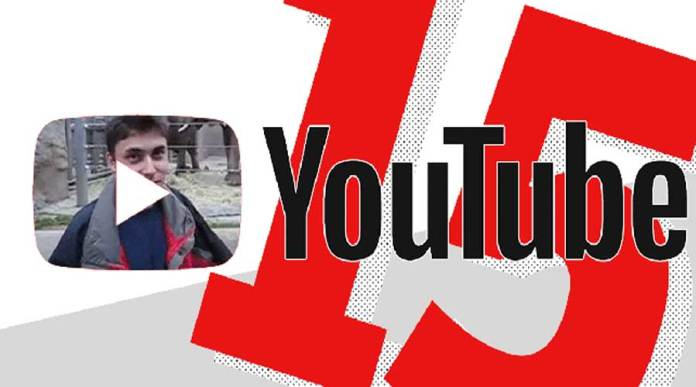 The Frist Video Of YouTube Turn 15 Now