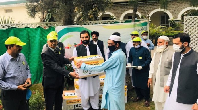 PTCL Ramazan Ration Drive for Coronavirus affected families across Pakistan