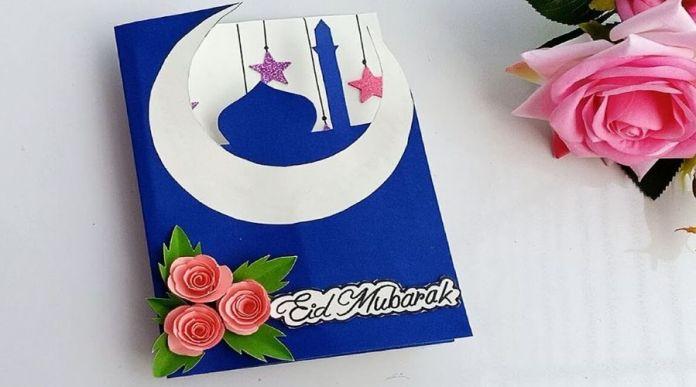 Send Hand Written Eid Mubarak Cards
