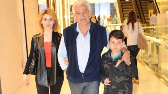 Serdar Gökhan Suleyman Shah with his family