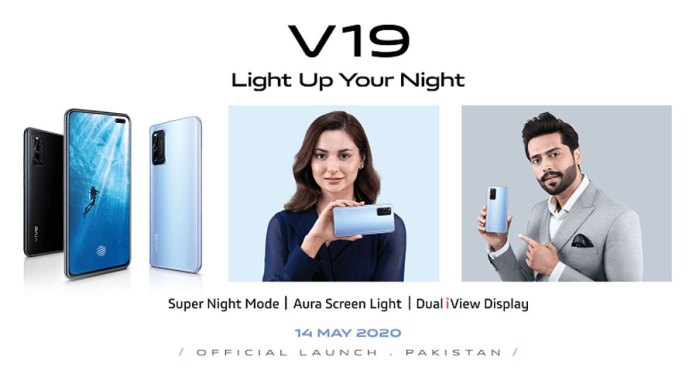 Vivo V19 Will Be Launch in Pakistan on May 14