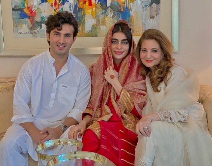 sadaf kanwal shehroz sabswari wedding pictures