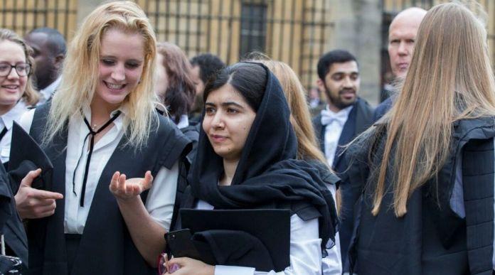 Malala Yousafzai has become an Oxford graduate