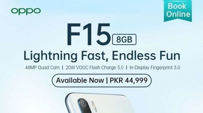OPPO Launches the F15, the Super-Fast Phone is Now Available in the Market and for Online Booking on OPPO's website