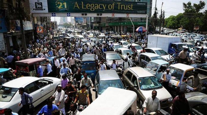 Pakistan Traffic Jams