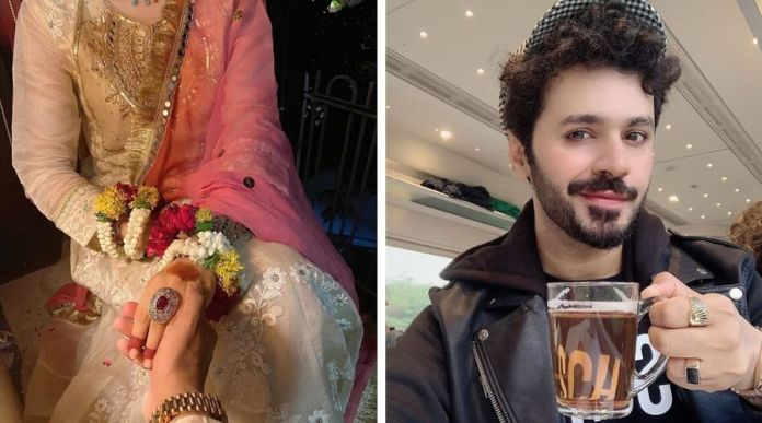Actor, Model Saim Ali ties the knot with his Mystery girl