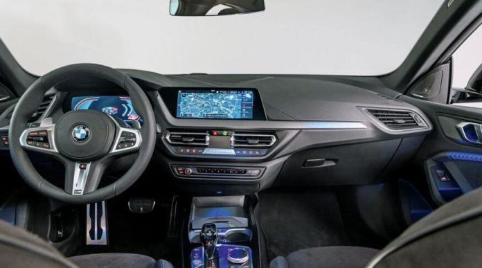 BMW Interior Look