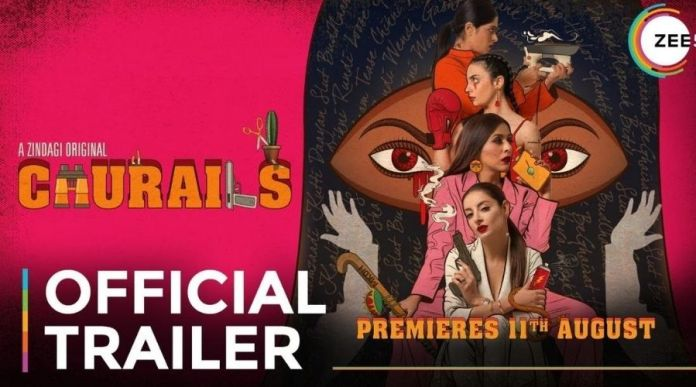Watch 'Churails' Web Series: Trailer about 4 women in search to breath free