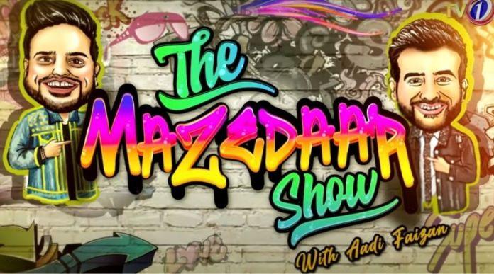 Faizan Sheikh sings a song for 'The Mazedaar Show'