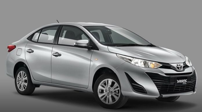 Toyota Yaris 2020 front