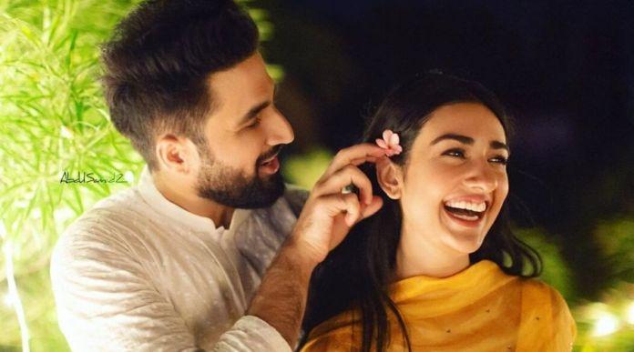 Falak and Sarah bursting with laughter 1
