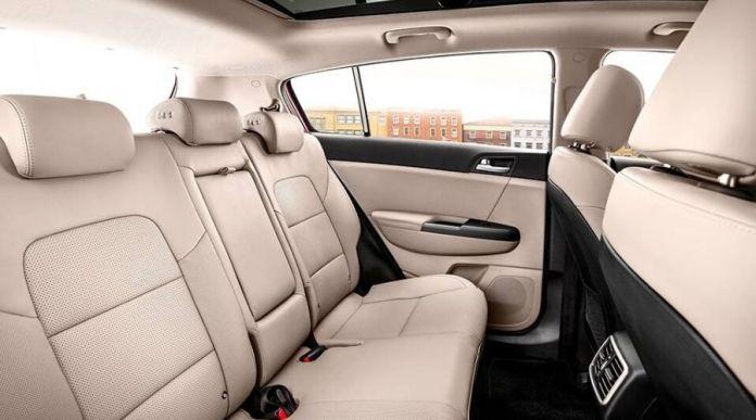 Kia sportage LX 2020 interior seats