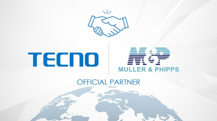 TECNO join hands with M&P