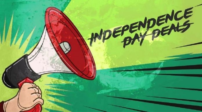 Top 9 Independence Day (Azadi) Sales and Deals that Cannot Be Missed