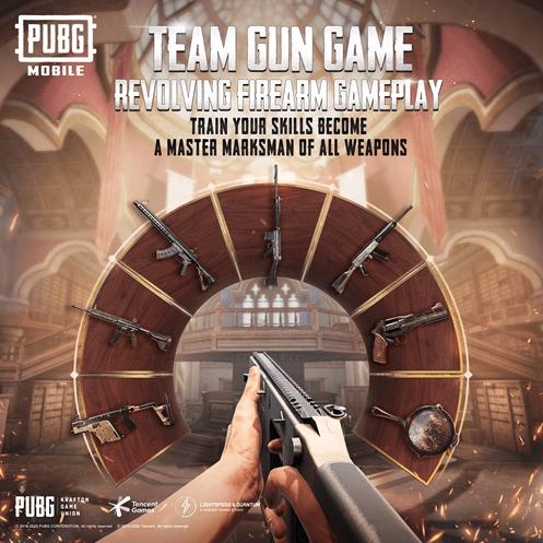 PUBG Mobile team gun mode Revolving firearm Gameplay
