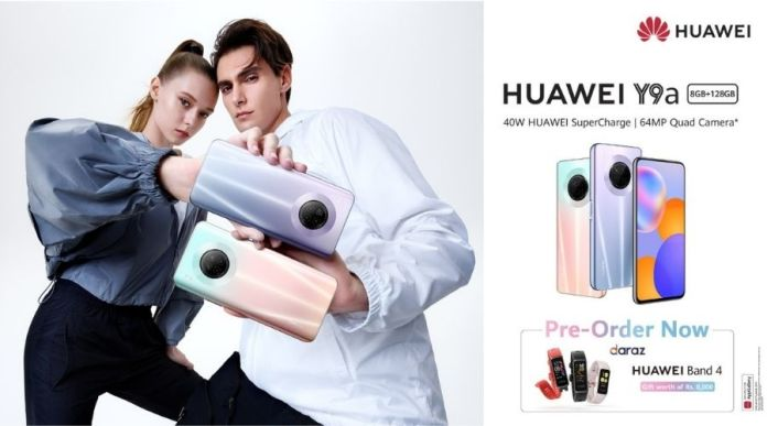 HUAWEI Y9A Mid-range King Opens for Pre-orders in Pakistan