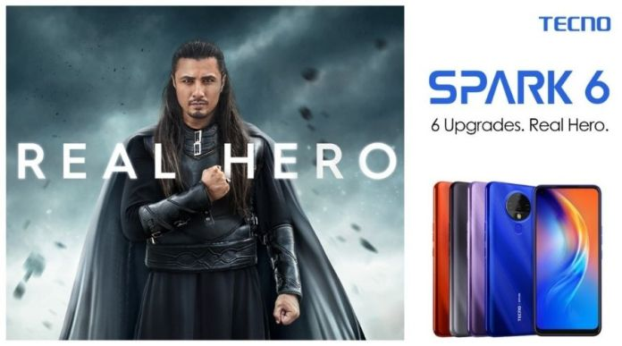 TECNO Spark 6 Hero Phone Launched in Pakistan