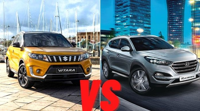 Hyundai Tucson VS Suzuki Vitara 2020– Head to Head Comparison