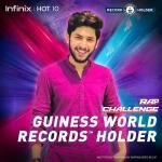 infinix rap challenge record holder