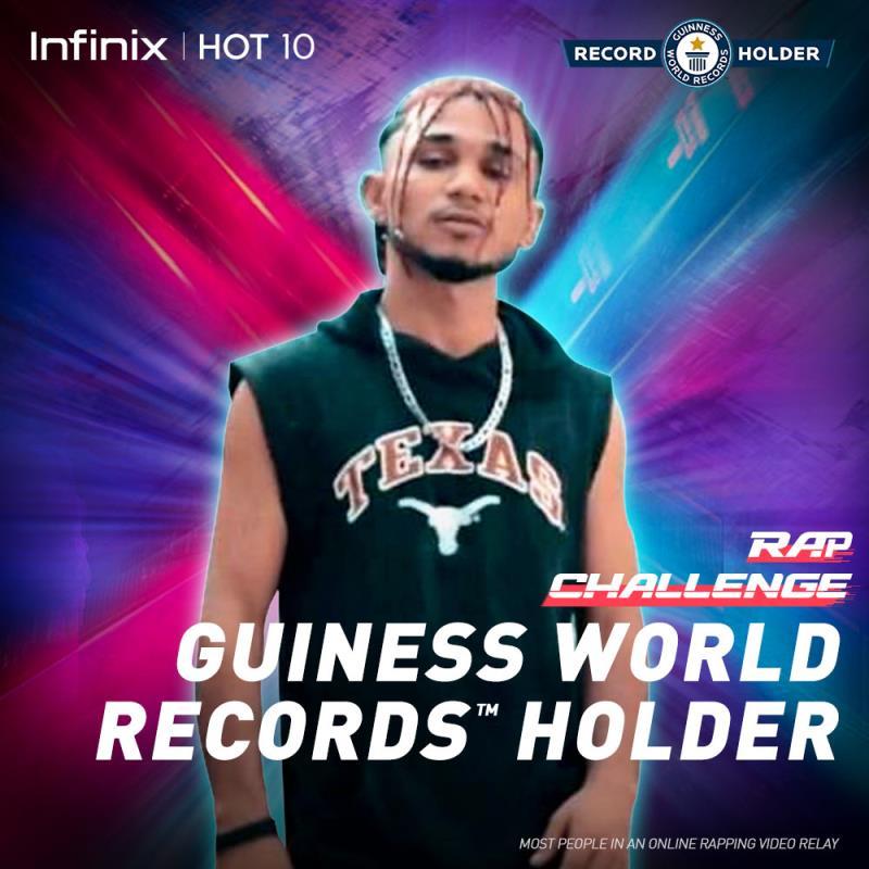 pakistani rap challenge record holder