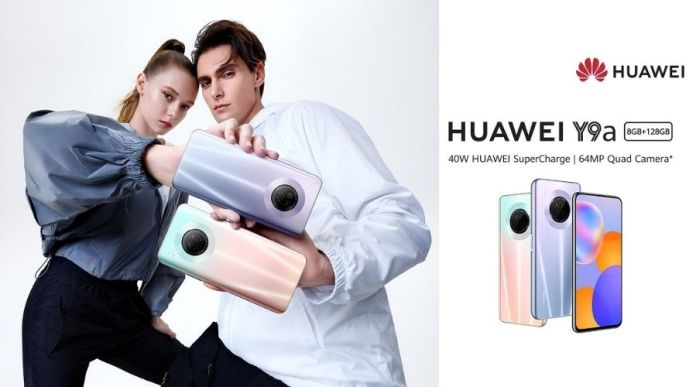 HUAWEI Y9a with 64MP Quad Camera features The Best Photography Experience Yet