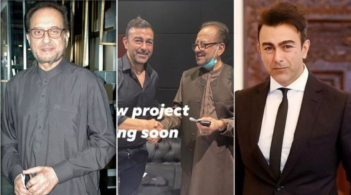Shaan Shahid teases a New project with Nadeem Biag