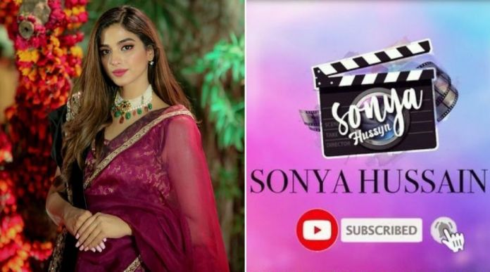 Sonya Hussyn creates YouTube Channel