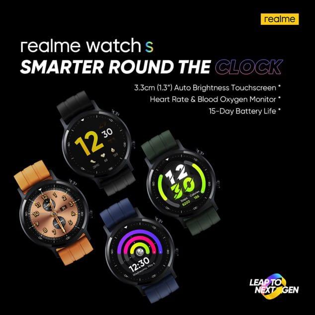realme watch s dara sale